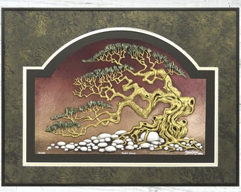 River Stone - Cast Paper