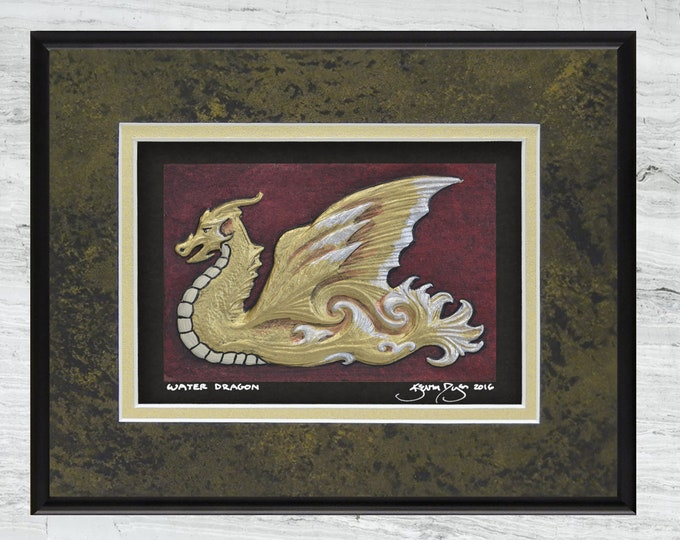 Water Dragon -  Cast Paper