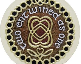 Celtic Marriage Blessing - Cast Paper - Celtic Blessing - Irish art - Celtic art - Scottish art - Wedding Gift - Ireland