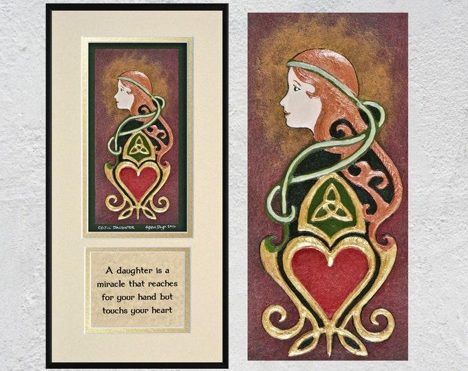 Celtic Daughter - Cast Paper