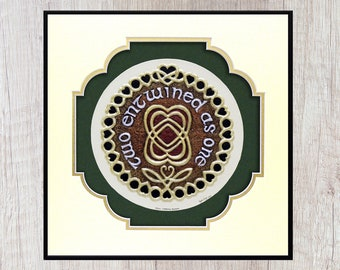 Celtic Marriage Blessing - Cast Paper