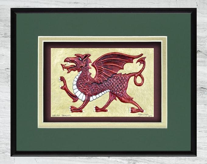 Welsh Dragon - Cast Paper