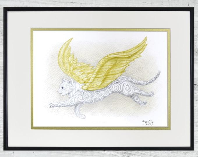 """Flight of Fancy - Framed Digital Print - 12"""" x 16"""""""