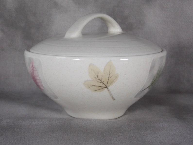 Tableware High Fired Iron Stone Stoneware Signed GA Dinnerware Labels Mikasa Woodland Covered Sugar Bowl New No Box