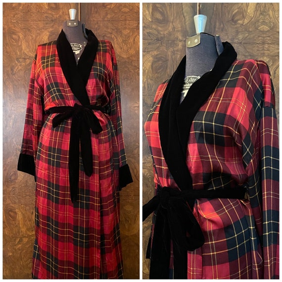 Vintage 1980's Silk and Velvet Victoria's Secret R
