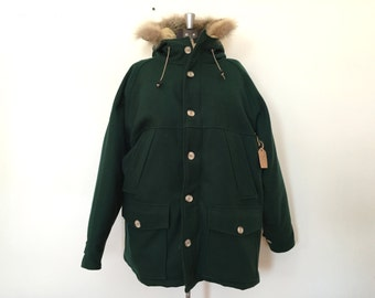 Vintage Woolrich Wool and Down Parka / Men's Med / Women's XL
