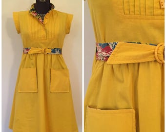 Vintage Jonathan Logan Dress / Med / 1970s Dress