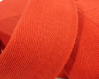 Cotton Twill Tape 2 inches wide 13 yards long Red