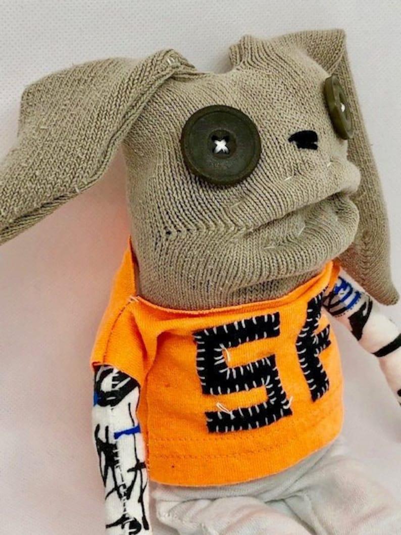 San Francisco Giants Unique Sock Animal Bunny TEEsox Baseball image 0