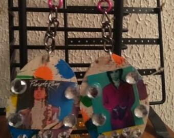 med/large prince earrings