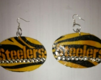 Steelers being earrings