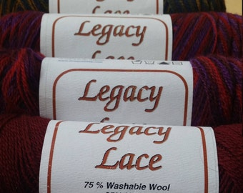 LEGACY LACE Yarn from Brown Sheep