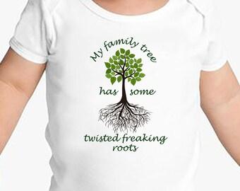 Hilarious Family Tree Onsie