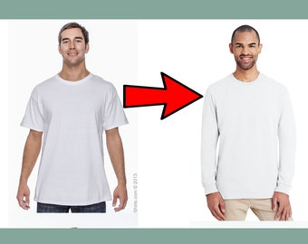 Upgrade to a long-sleeve tee
