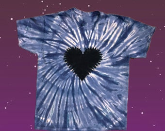 Black Heart of Innocence (Feri Tradition) Tie-Dye Tee