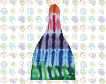 Tie-dye Knot Top Cap for Babies and Toddlers