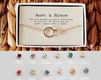 Aunt And 2 Niece Necklaces Aunt Niece No Matter Where Necklaces No Matter Where Necklaces Aunt Necklace 2 Niece Necklace Personalized