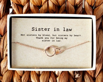 Sister-in-law necklace sister-in-law birthday Gifts Sister-in-law necklace, Gift for Sister-in-law Sister-in-law gifts