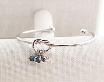 Custom Birthstone Bracelet O Personalized Sweet 16 Gift 16th Birthday Best Friend Gifts Girlfriend BFF
