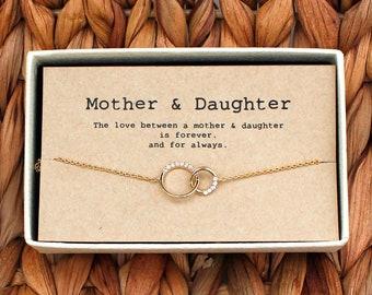 Mother Daughter Bracelet Etsy
