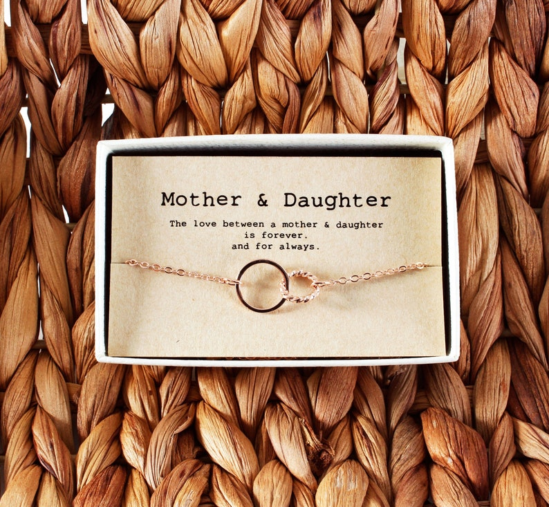 Mother Daughter Bracelet  Mothers day gift  Mothers day image 0