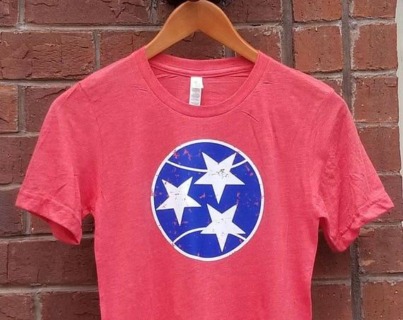 Tennessee Tennis Tshirt, Tri Star Tennis Tshirt, Tennis.see® Tshirt, Tennessee Shirt,  TriStar Tennessee Top, Tennis.see® Shirt, Unisex