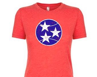 Tennessee Tennis Tshirt, Tri Star Tennis Tshirt, Tennis.see® Tshirt, Tennessee Shirt,  TriStar Tennessee Top, Tennis.see® Shirt, Women's