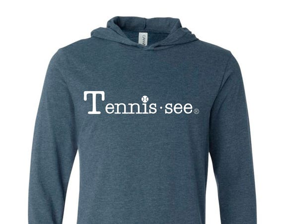 Tennessee Tshirt Hoodie, Navy Tshirt, Tennis.see® Tshirt, Tennessee Shirt, Gray Tennis Shirt, Gray Tennessee Top, Tennissee Shirt, Unisex