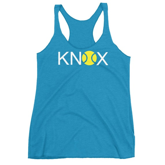 KNOX Knoxville Tennis Tennessee Tennissee Women's Racerback Tank