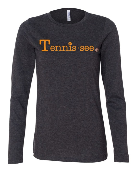Tennessee Tshirt, Gray Tshirt, Tennis.see® Tshirt, Tennessee Shirt, Gray Tennis Shirt, Gray Tennessee Top, Tennis.see® Shirt, Womens