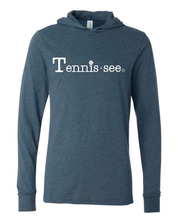 Tennessee Tshirt Hoodie, Navy Tshirt, Tennis.see® Tshirt, Tennessee Shirt, Gray Tennis Shirt, Gray Tennessee Top, Tennis.see® Shirt, Unisex
