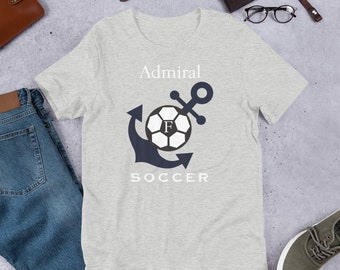 Cotton FMS Soccer Short-Sleeve Unisex T-Shirt