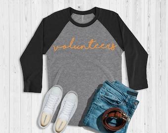 Tennessee Volunteers Ragland Tshirt Tee Shirt Cursive Volunteers Gift UT Luna B. Tee