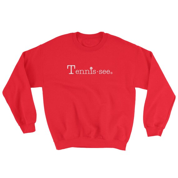 Tennis.see® Tennis Tennessee Sweatshirt Unisex Many Colors