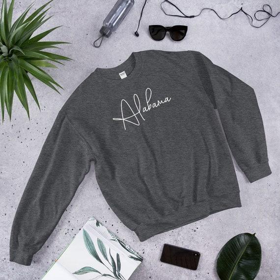 Alabama Cursive Unisex Sweatshirt