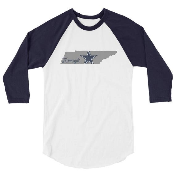 Farragut Tennessee High School Middle Star State Tshirt 3/4 sleeve raglan shirt