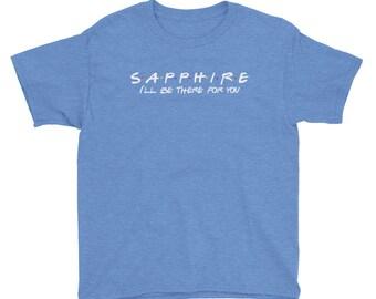 Sapphire Youth Short Sleeve T-Shirt