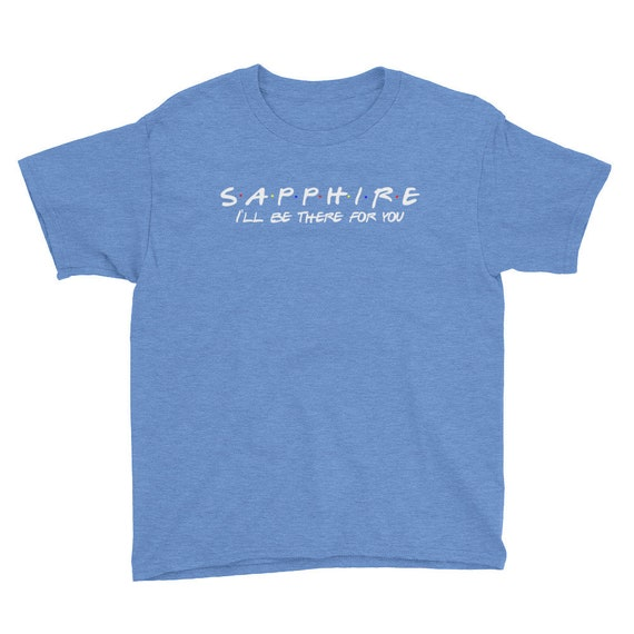 Sapphire Youth Short Sleeve T-Shirt