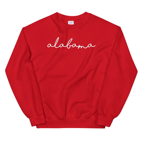 Alabama Cursive State University Unisex Sweatshirt