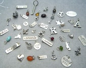 ADD ON ONLY- Sterling Silver, Rose Gold Fill And Gold Fill Charms And Personalized Tags