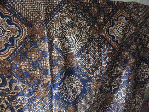 Vintage 1960s cotton decor fabric Norfix super stain repellent 1 yard 18 inches 45 inches wide