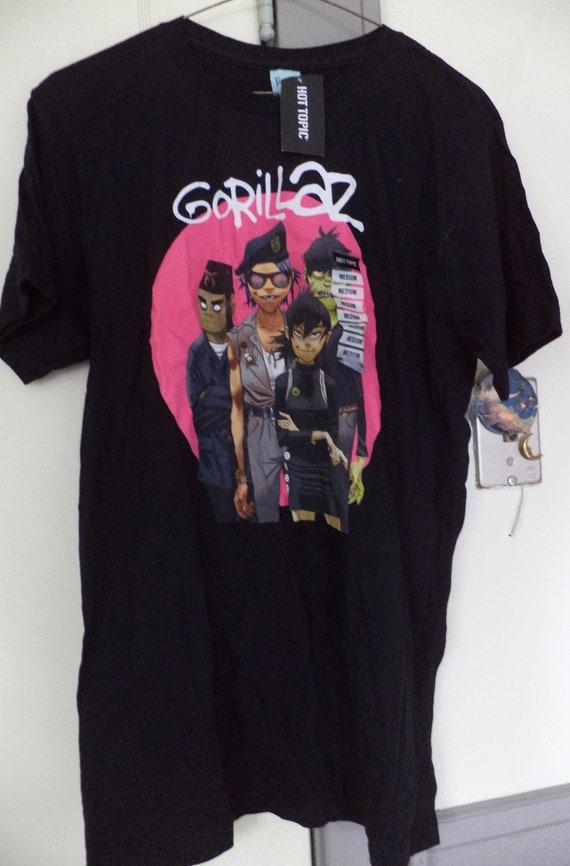Gorillaz Band Tee Shirt