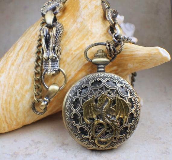 Halskette Medaillon Mechanisches Herz Gothic Steampunk Locket Necklace  bronce