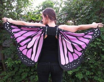 Adult Costume Purple Butterfly Wings