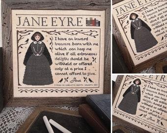 Jane Eyre - PDF DIGITAL Cross Stitch Pattern