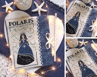 Polaris - The North Star - PDF DIGITAL Cross Stitch Pattern