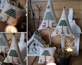 Winter Wood - PDF Digital Cross Stitch Pattern
