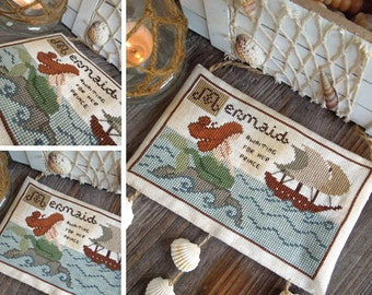 The Little Mermaid - Cross Stitch DIGITAL Pattern