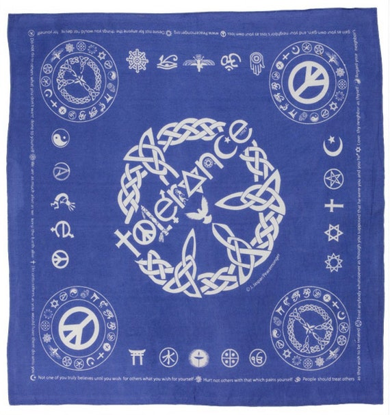 Paisley Hippie Bandana Bandanna Handkerchief Cloth Napkin DooRag Electric Purple