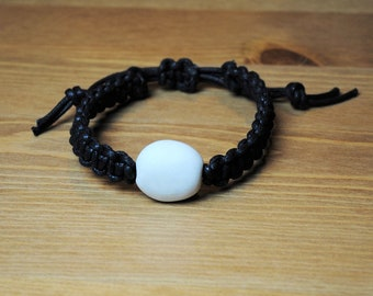 Custom Made Kanji Bracelet - Your Spiritual Message or Name in Japanese Kanji